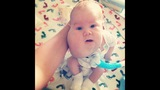 PICTURES: Baby Wyatt, 2-month-old with… - (2/9)