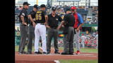 Fans gather to watch Pirates take on… - (4/25)