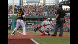 Fans gather to watch Pirates take on… - (10/25)