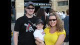 Fans gather to watch Pirates take on… - (7/25)