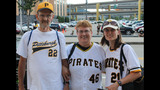 Fans gather to watch Pirates take on… - (3/25)