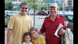 Fans gather to watch Pirates take on… - (9/25)