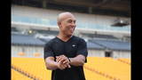 Hines Ward comes to 2013 Skylights Media Day - (10/25)