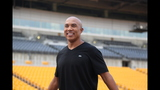 Hines Ward comes to 2013 Skylights Media Day - (16/25)