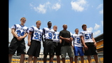 Hines Ward comes to 2013 Skylights Media Day - (15/25)