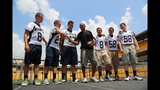Hines Ward comes to 2013 Skylights Media Day - (21/25)