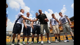 Hines Ward comes to 2013 Skylights Media Day - (11/25)