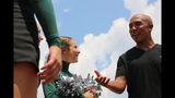 Hines Ward comes to 2013 Skylights Media Day - (7/25)