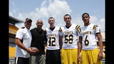 Hines Ward comes to 2013 Skylights Media Day - (5/25)