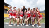 Hines Ward comes to 2013 Skylights Media Day - (23/25)