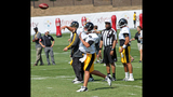 Steelers Training Camp at St. Vincent College - (4/25)