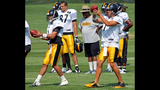 Steelers Training Camp at St. Vincent College - (7/25)