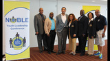 Actor Harry Lennix speaks at NOBLE Youth… - (18/25)
