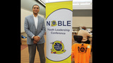 Actor Harry Lennix speaks at NOBLE Youth… - (17/25)