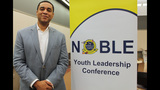 Actor Harry Lennix speaks at NOBLE Youth… - (8/25)