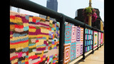 Andy Warhol Bridge gets 'yarn bombed' - (15/25)