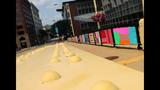 Andy Warhol Bridge gets 'yarn bombed' - (11/25)