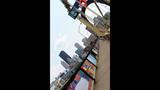 Andy Warhol Bridge gets 'yarn bombed' - (10/25)