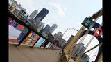 Andy Warhol Bridge gets 'yarn bombed' - (4/25)
