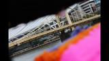 Andy Warhol Bridge gets 'yarn bombed' - (8/25)