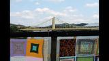 Andy Warhol Bridge gets 'yarn bombed' - (12/25)