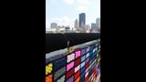 Andy Warhol Bridge gets 'yarn bombed' - (25/25)