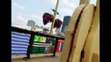Andy Warhol Bridge gets 'yarn bombed' - (7/25)