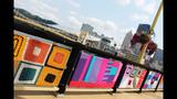Andy Warhol Bridge gets 'yarn bombed' - (24/25)
