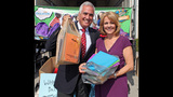 WPXI, Giant Eagle collect school supplies for… - (1/25)