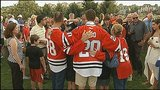 Photos: Brandon Saad's local celebration with… - (8/13)