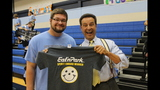 Eat'n Park Spirit Award presented to Central Valley - (11/25)