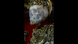 Photos: Jeweled skeleton relics show a macabre beauty - (13/15)