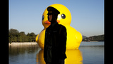 World traveling 40-foot rubber duck making… - (7/20)