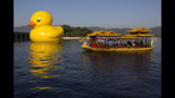 World traveling 40-foot rubber duck making… - (5/20)