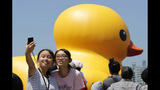 World traveling 40-foot rubber duck making… - (19/20)