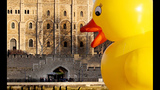 World traveling 40-foot rubber duck making… - (2/20)