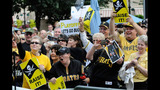 Hundreds of Bucco fans gather for rally in… - (1/7)