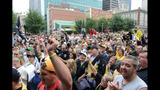 Hundreds of Bucco fans gather for rally in… - (3/7)