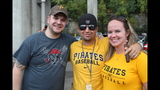 Pirates fans tailgate before first playoff… - (8/25)