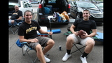 Pirates fans tailgate before first playoff… - (12/25)
