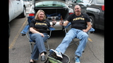 Pirates fans tailgate before first playoff… - (11/25)