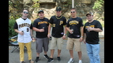Pirates fans tailgate before first playoff… - (2/25)