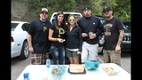 Pirates fans tailgate before first playoff… - (17/25)