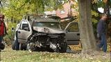 Photos: Driver crashes into 2 trees, pole in… - (8/11)