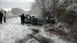Photos: Rollover accident on Route 50 near… - (2/3)