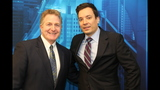 Jimmy Fallon visits WPXI-TV - (10/25)