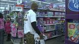 Children shop with Steelers' Ike Taylor at Walmart - (9/25)