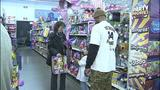 Children shop with Steelers' Ike Taylor at Walmart - (11/25)