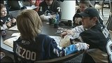 Photos: Penguins host Make-A-Wish children, families - (4/13)