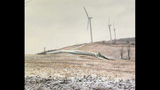 Wind turbine topples over in Fayette County - (12/20)